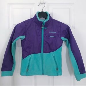 Kids' Columbia fleece jacket sz XS/6